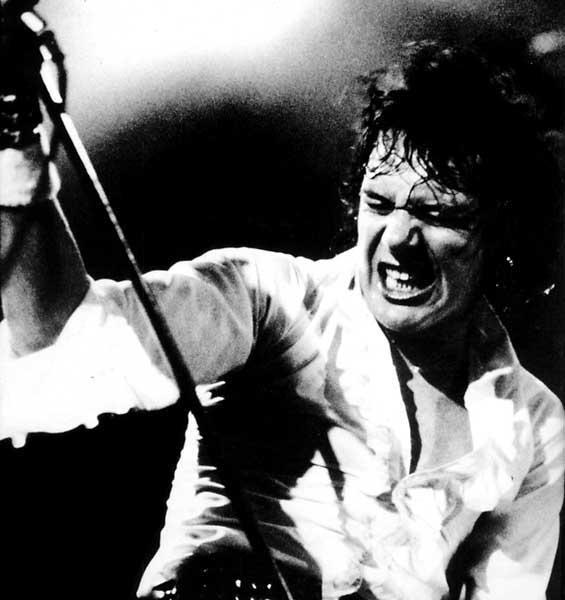 Paul Di'Anno - wokal Iron Maiden na pierwszych dwóch płytach